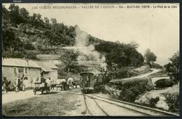 Reproduction Ancienne D'une CPA - Vallée De L'Ognon - Haut-du-Them - Le Pied De La Côte - Voir 2 Scans - Sonstige Gemeinden