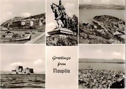 GRETINGS FROM NAUPILA  (GRECIA) - Grecia