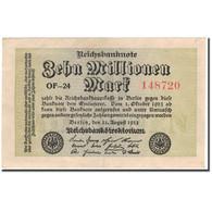 Billet, Allemagne, 10 Millionen Mark, 1923-08-22, KM:106a, SUP - [ 3] 1918-1933: Weimarrepubliek