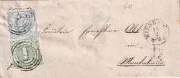THURN UND TAXIS 1861 LETTRE DE WIESBADEN - Tour Et Taxis