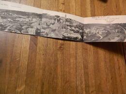 THUIN:CARTE TRIPLE PANORAMIQUE DE THUIN -DEBUT 20 EME SIECLE ENTRE 1900 ET 1905 - Thuin