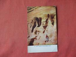 Rock Temple At Simbel Egypt    Ref 3163 - Egypt
