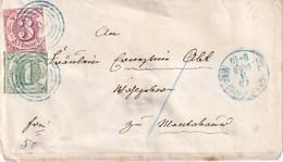 THURN UND TAXIS 1864 LETTRE POUR MONTABAUR - Tour Et Taxis