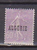 ALGERIE         N°  YVERT  :   24     NEUF AVEC  CHARNIERES      ( Ch 1/14  ) - Algérie (1924-1962)