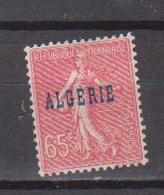 ALGERIE         N°  YVERT  :   25     NEUF AVEC  CHARNIERES      ( Ch 1/14  ) - Algérie (1924-1962)