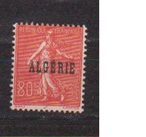 ALGERIE         N°  YVERT  :   27    NEUF AVEC  CHARNIERES      ( Ch 1/14  ) - Algérie (1924-1962)