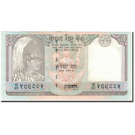 Billet, Népal, 10 Rupees, KM:31b, SUP - Népal