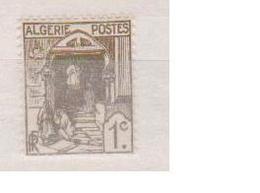 ALGERIE         N°  YVERT  :   34   NEUF AVEC  CHARNIERES      ( Ch 1/14  ) - Algérie (1924-1962)