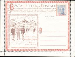 ITALIE Entiers  BLP - Série: 1 A (sans Interieur) Cafe*/rose*/ Chandelle/auto*/velo/poids/train*/aigle*/soie/ - 1900-44 Vittorio Emanuele III