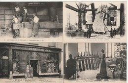 Lot De 100 Cartes Postales Anciennes Diverses Et Photos  Variées, Très Bien Pour Un Revendeur Réf, 374 - Cartes Postales