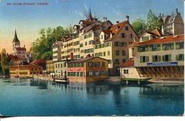 005978  Zürich Altstadt. Schipfe  1938 - ZH Zürich