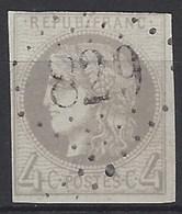 Francia U   41 (o) Ceres. 1870 - 1870 Bordeaux Printing