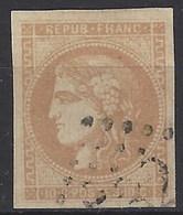 Francia U   43 (o) Ceres. 1870 - 1870 Bordeaux Printing
