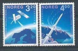 Norvège  1991  N°1019/1020  Série Neuve** Europa Espace - Norvège