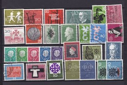 BRD - 1958/61 - Sammlung - Gest. - BRD