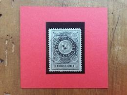 BELGIO 1897 - Francobollo Di Ricevuta Telegrafica N.1 Timbrato + Spese Postali - Belgio