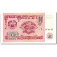 Billet, Tajikistan, 10 Rubles, 1994, KM:3a, SPL - Tadjikistan
