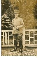 005985  Junger Deutscher Soldat Portraitbild - Personen