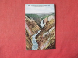 Grand Canyon Yellowstone From Artists Point   Yellowstone National Park     -    Ref 3164 - Other