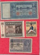 Allemagne 20 Billets Dans L 'état  Lot N °4 - Allemagne