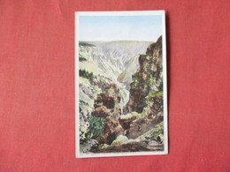 Grand Canyon From Grand View    Yellowstone National Park     -    Ref 3164 - Other