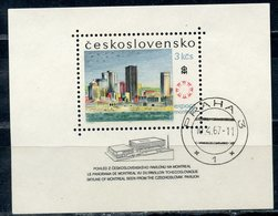 Y85 CZECHOSLOVAKIA 1967 1700 (bl.26) World Exhibition 1967, Montreal. Architecture - 1967 – Montreal (Kanada)