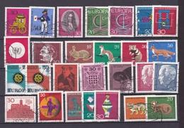 BRD - 1966/68 - Sammlung - Gest. - Gebraucht