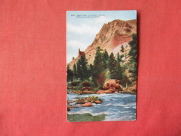 Eagle Rock In Gardiner Canyon     Yellowstone National Park     -    Ref 3164 - Other