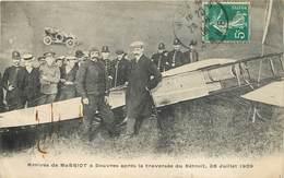 ARRIVEE DE BLERIOT à Douvres Après La Traversée Du Détroit ,25 Juillet 1909. - ....-1914: Précurseurs