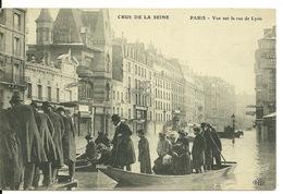 75 - PARIS - INONDATIONS JANVIER 1910 / VUE SUR LA RUE DE LYON - Inondations De 1910