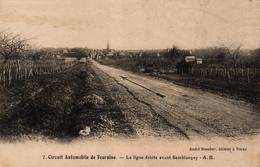 CIRCUIT AUTOMOBILE DE TOURAINE - LA LIGNE DROITE AVANT SEMBLANCAY - Semblançay