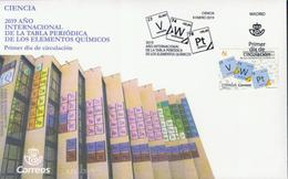 Spanien 'Internationales Jahr Des Periodensystems' / Spain 'International Year Of The Periodic Table' **/MNH 2019 - Química
