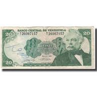 Billet, Venezuela, 20 Bolivares, 1990-05-31, KM:63c, B+ - Venezuela