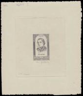 FRANCE Epreuves  802 Epreuve D'artiste En Noir, Signée, 1° état Inachevée: Mgr Affre. - Künstlerentwürfe