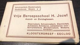 Oost-Vlaanderen  Eeklo Eecloo Vrije Beroepsschool H. Jozef Avond En Zondaglessen Boekje, 11 Postkaarten      I 5706 - Eeklo