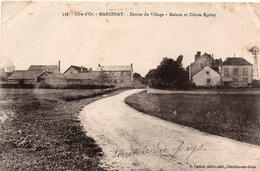 MARCENAY-Entrée Du Village, Maisons Et Usines Egeley - France