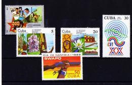 Cuba Conjunto Series** Nuevo - Ungebraucht