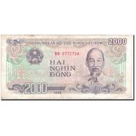 Billet, Viet Nam, 2000 D<ox>ng, 1988, KM:107a, TB+ - Vietnam