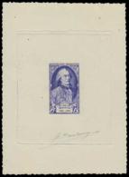 FRANCE Epreuves  856 Epreuve D'artiste En Bleu, Signée: Buffon. - Epreuves D'artistes