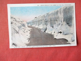 Colorado  Estes Park  Grand Lake Road  Snow Canon  -    Ref 3164 - Other