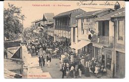 Cpa Valras-la-Plage / Rue Française . - France