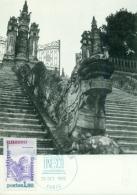 CM-Carte Maximum Card #1982-France# UNESCO#Architecture #Protection Patrimoine # Tombeau Empereur Khae-Dink,Huè,Vietnam - Cartes-Maximum