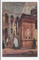 The Holy Land - Jerusalem - The Rotunda And Chapel Of The Holy Sepulcre - Tuck Oilette 7308 - Palestine