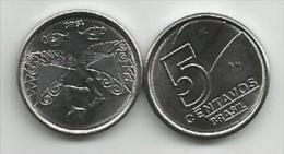 Brazil  5 Centavos 1989. KM#612 High Grade - Brésil