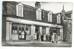 76 - ANGERVILLE - Café Des Colonnes - CPSM - France