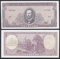 CHILE - 5 Escudos Nd.(1964) {Series Q} UNC P.136 - Chili