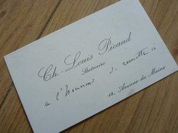 Charles Louis PICAUD Sculpteur Cdv - Autographes