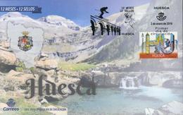 Spanien 'Huesca, Gemse' / Spain 'Huesca, Chamois' FDC 2019 - Briefmarken