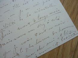 Aristide CROISY - Autographes
