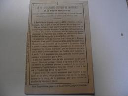 Marie Louise Grignon De MONRFORT Et Sa Mission Dans L'église, Mai 1886 - Religion & Esotérisme